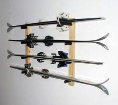Image result for ski in der garage aufhängen