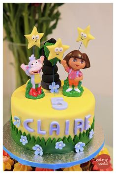 5 year old girl birthday cake - Google Search