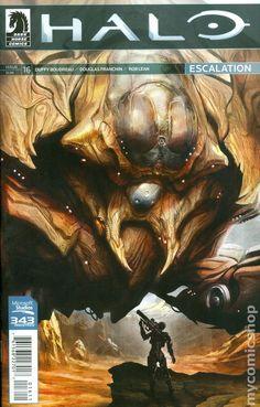 Halo Escalation (2013) 16 Comic Book Cover