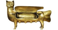 Cat Bar by Claude and Francois Xavier Lalanne, 1968 Cat Bar, Grand Chat, Francois Xavier, Kinds Of Cats, All About Cats, Look Vintage, Art Of Living, Beautiful Cats, Decoration