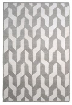 Cable Neutral by The Rug Company | Tibetan Wool Rug