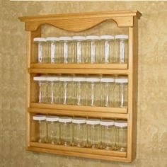 Wood Spice Rack For Wall Americana Spice Rack  Americana  Pinterest
