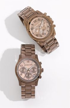 Chocolate Metal Watches : )