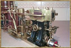 Imagen relacionada Steam Engine, Model Ships, Espresso Machine, Cars And Motorcycles, Tractors, Coffee Maker, Engineering, Boats, Live