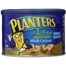 #Amazon: Planters Cashew Whole Lightly Salted 8.5-oz. (Count of 3) $7.80 or less  free shipping http://www.lavahotdeals.com/us/cheap/planters-cashew-lightly-salted-8-5-oz-count/47173