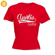 Fonfella Slogans Damen T-Shirt, Slogan Rot Rot Größe L - Shirts mit spruch (*Partner-Link)
