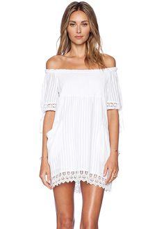 Tularosa Quinn Smocked Dress | Brides.com