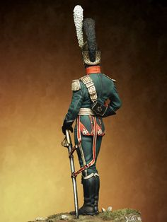 Officer of the Lancers of the line, France 1811
