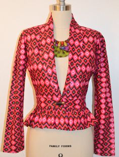 African jacket wooden print. by Rahyma on Etsy, $80.00