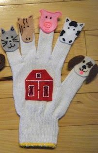 Felt Board Ideas: Old Macdonald Had a Farm--Felt Board and Finger Puppet