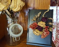 Connect to nature through dried flower art by afloristsdaughter How To Preserve Flowers, Chrysanthemum, Natural Wonders, Natural World, Dried Flowers, Flower Art, Floral Arrangements, Connect, Daisy