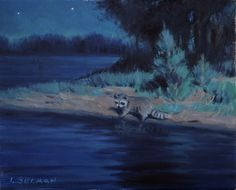 Night Fishing, by Larry Selman, original at www.larryselman.com