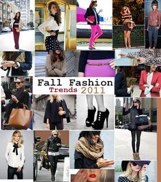 fall trends 2011.