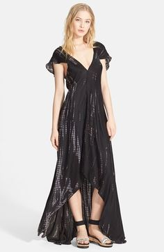 Zadig & Voltaire 'Reino' Graphic Print High/Low Dress available at #Nordstrom