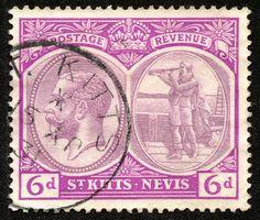 Big Blue 1840-1940: St. Kitts-Nevis