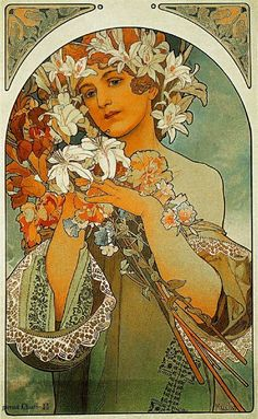 the 349 best alfons mucha images on pinterest alphonse mucha art nouveau and poster. Black Bedroom Furniture Sets. Home Design Ideas