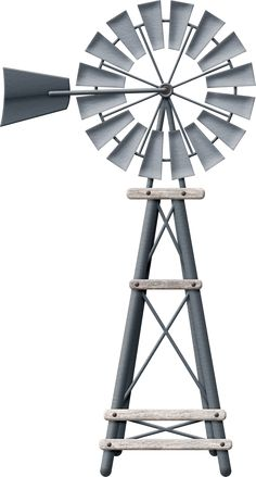 Farm Windmill Clip Art Colorful and fun on pinterest clip art ...