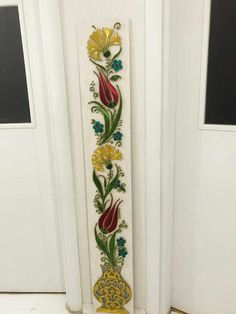 Glass Painting Designs, Paint Designs, Lotus Painting, Stained Glass Flowers, Pomegranates, Quilling Designs, Indian Home Decor, Border Design, Bottle Design