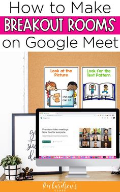 Use this step-by-step tutorial to creating breakout rooms on Google Meet. This ultimate guide for teachers will help you implement virtual guided reading groups successfully to boost every reader during distance learning.