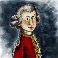 Mozart by ~BlackPotion Online Art Gallery, Musicals, Princess Zelda, Community, Rock, Artist, Fictional Characters, Skirt, Artists