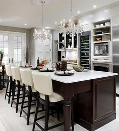 a world of dream homes - #kitchen chandeliers
