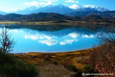 """Plastiras Lake: Travel guide, Holiday planner - Dreamingreece.com  Plastiras Lake is an artificial lake in the Prefecture of Karditsa. It is an excellent sample of successful human intervention into nature, as the artificial environment """"blends"""" perfectly with the natural one... http://www.dreamingreece.com/thessaly/plastiras-lake -  #greece #plastiraslake #holidaysingreece #dreamingreece #travelguide #travel"""