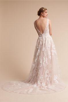 BHLDN Ivory Radcliffe Gown in  Bride | BHLDN