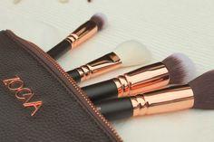Anna Peony: BEAUTY >> New In - Zoeva Rose Golden Luxury Brush Set
