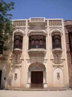 Old Style Urban Pakistani home usually in Punjab