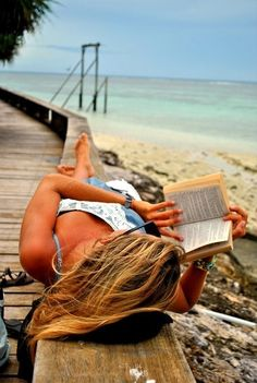 beachside reading