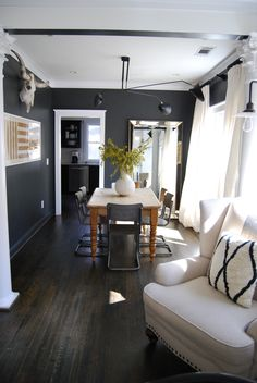 Alison & Derek's Atlanta Home in Shades of Black & White — House Tour