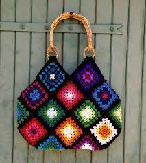 Resultado de imagen para bags with granny squares