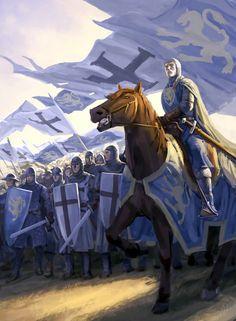 Crusaders in Tavastland, Northern Crusade- by Minnhagen