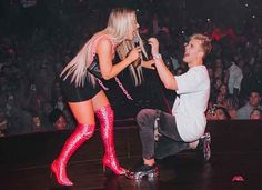 """Though it's still unclear if the marriage is in fact legal or one elaborate publicity stunt, the two said """"I do"""" at the Graffiti Mansion, which had been painted white and covered in spray-painted rose patterns as well as their hashtag and the date. Jake Paul Team 10, Logan Paul, Celebrities Who Died, Celebs, Wwe Pictures, Black And White Photo Wall, Bad Girl Aesthetic, Pink Aesthetic, Barbie Dream House"""