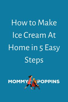 How to Make Ice Cream At Home in 5 Easy Steps Homemade Fathers Day Card, Easy Fathers Day Craft, Best Dad Jokes, Summer In Nyc, Message For Dad, Ice Cream At Home, Kids Things To Do, Dad Humor, Painting For Kids