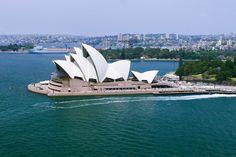Das Opernhaus von Sydney ist das Wahrzeichen der Stadt und eines der Wahrzeichen Australiens