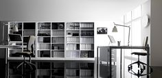 Armadi Metallici per Archiviare nell'Ufficio Moderno e Tecnologico