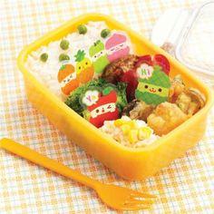 funny fruit Baran divider sheets for Bento Box Lunch Box