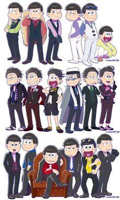 Read [Mini-comic] from the story ❤Osomatsu-san Imágenes by (Matsu) with reads. All Anime, Me Me Me Anime, Anime Manga, Anime Guys, Anime Art, Character Concept, Character Design, Onii San, Osomatsu San Doujinshi