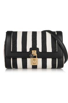 Dolce & Gabbana Dolce striped brocade shoulder bag(=)