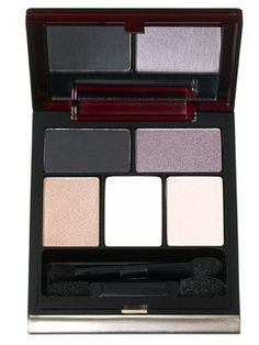 Kevyn Aucoin The Essential Eyeshadow Set in Palette #2: This palette of five pigment-rich powder eye shadows includes basic black and classic neutrals. (AKA perfect for wedding makeup.) | allure.com