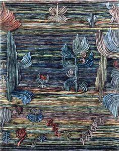 Paul Klee 'Exotischer Garten' (Exotic Garden) 1926 Oil on canvas 40 x 51 cm