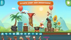 In this game you can create your own crazy, fun inventions