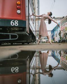 Bailarinas tomam as ruas de Hong Kong em ensaio surpreendente   Virgula