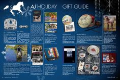 The Appaloosa Journal Holiday Gift Guide 2013: http://www.appaloosajournal.com/2013/11/appaloosa-journal-2013-holiday-gift-guide/