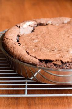 The best-ever version of flourless chocolate cake. Gluten-free!