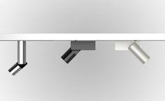 BCN_50, proyectores y bañadores para rail de Nexia Iluminación