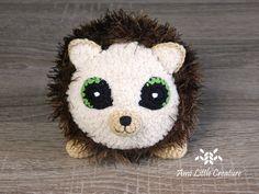 Cats in Love and George the Hedgehog Amigurumi Tutorial, Crochet Patterns Amigurumi, Crochet Toys, Love Crochet, Learn To Crochet, Crochet For Kids, Types Of Yarn, Samba, Cat Love
