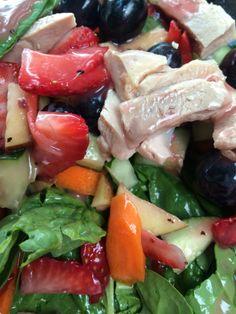 Daily lunch salad.  Yummy