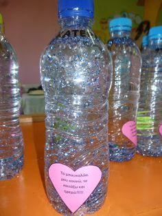 Μικρό Νηπιαγωγείο - Νηπιαγωγείο Μικρόπολης Ν. Δράμας: Συναισθήματα Class Management, Play Therapy, School Ideas, Corner, Feelings, Bottle, Projects, Crafts, Log Projects